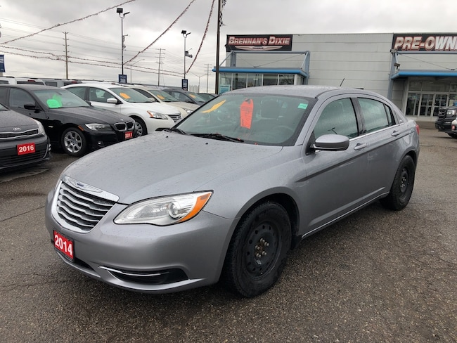 2014 Chrysler 200 LX 4 Cylinder 2.4 Sedan
