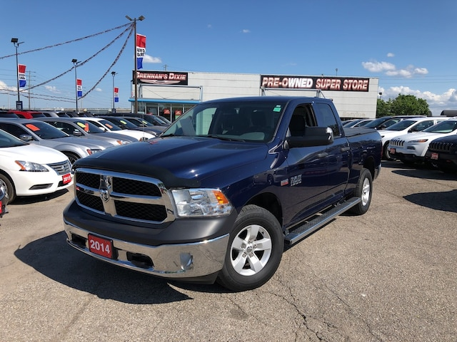 Used 2014 Ram 1500 ST,SXT,Uconnect,Hitch,Spray IN Liner For