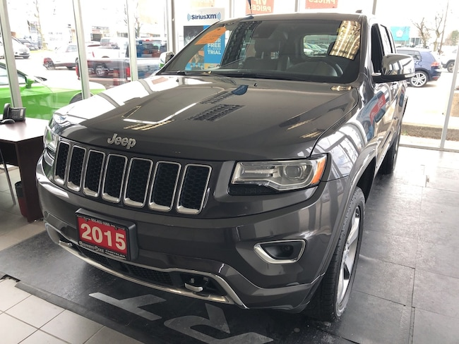 2015 Jeep Grand Cherokee Overland Ecodiesel, Leather Seats, Back Up Camera. SUV