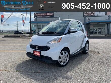2015 Smart Fortwo Pure cpe Compact