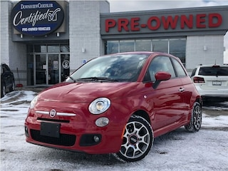 2013 FIAT 500 Sport w/ Alloy Wheels, Bluetooth, EPS Hatchback