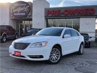 2011 Chrysler 200 Touring w/ Heated Seats, Bluetooth, Remote Start Sedan