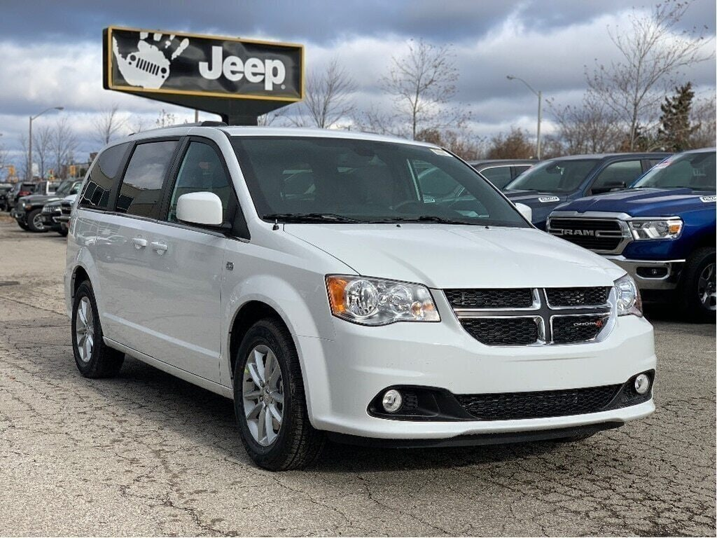 2019 Dodge Grand Caravan 35th Anniversary Edition – DVD, Premium Group, Remote Start, Park Sensors