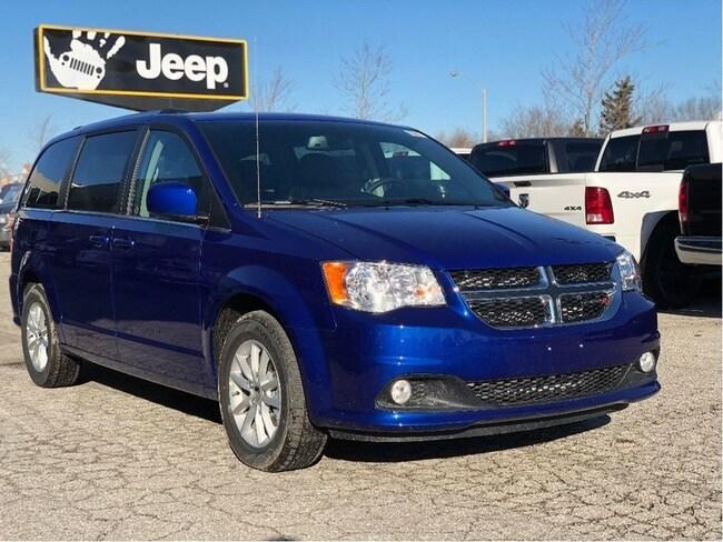 2019 Dodge Grand Caravan SXT Premium Plus DVD, NAV, Uconnect Hands-Free, Power Doors & Tailg