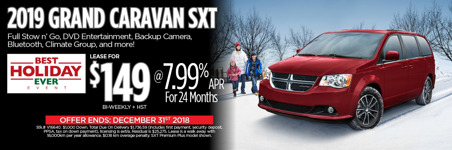 Grand Caravan Deals Toronto Downsview Chrysler
