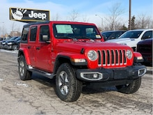2020 Jeep Wrangler Unlimited Sahara – Cold Weather Group, NAV & Sound