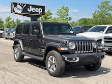 2021 Jeep Wrangler Unlimited Sahara - Proximity Entry, NAV/Sound, Cold Weather