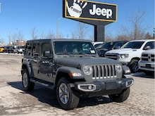 2020 Jeep Wrangler Unlimited Sahara – Leather, Proximity, Cold Weather Group , NAV & S