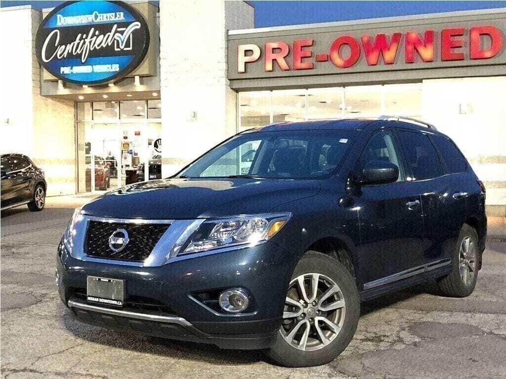 2014 Nissan Pathfinder SL w/ 7 Seats, NAV, Leather, New Brakes! SUV