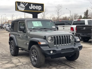 2018 Jeep Wrangler JL Sport S – Technology Group, Cold Weather, Anti-Spin Diff,