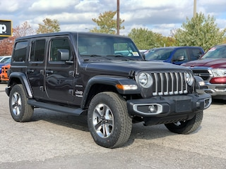 2020 Jeep Wrangler Unlimited Sahara - Leather Seats, Cold Weather, NAV/Sound, Trac-Lok