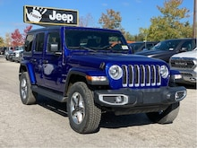 2020 Jeep Wrangler Unlimited Sahara – Leather Seats, SafetyTec Group, Cold Weather Gro