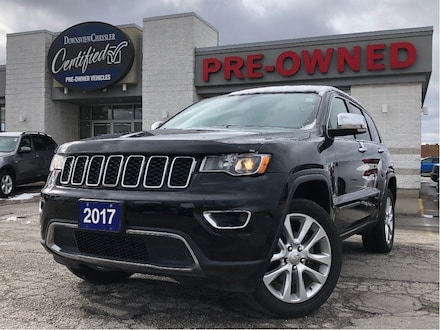 2017 Jeep Grand Cherokee Limited 4x4 w/Sunroof, Navigation, 20