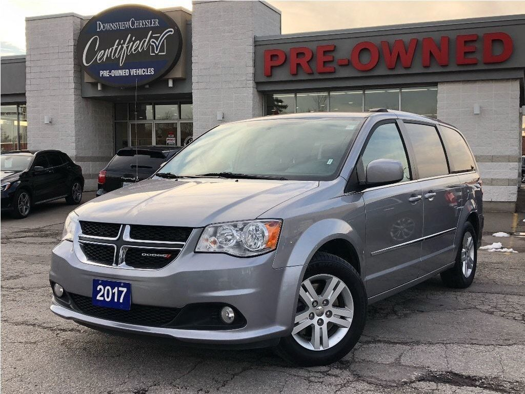 2017 Dodge Grand Caravan Crew - 3 Zone Temp Cntrl, Power Windows, Alloys Minivan