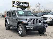 2020 Jeep Wrangler Unlimited Sahara – Leather, SkyPower, LED, SafetyTec, Cold Weather,