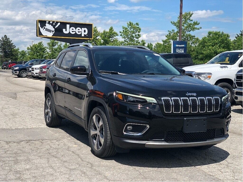 2019 Jeep New Cherokee Limited FWD – Commandview Sunroof, Uconnect 4C w/ NAV, Luxury