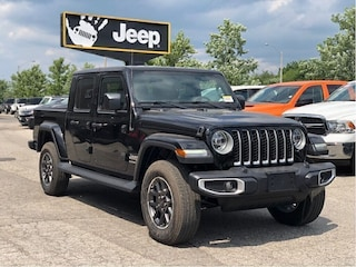 2020 Jeep Gladiator Overland – Leather Buckets, Uconnect 4C NAV, SafetyTec Grou