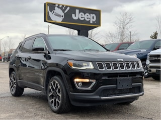 "2020 Jeep Compass Limited 4x4 – 8.4"" NAV, Panoramic Sunroof, Premium Lighting, S"