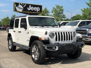 2019 Jeep Wrangler Unlimited Sahara 4x4 w/ Leather, NAV, Cold Weather SUV