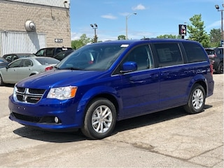 2019 Dodge Grand Caravan SXT Premium Plus – NAV, Uconnect, Power Doors & Tailgate, Remote St