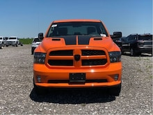 2019 Ram 1500 Classic Express Ignition Orange 4x4 Truck Crew Cab