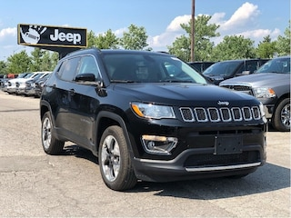 2019 Jeep Compass Limited 4x4 – Uconnect 4C NAV, Gloss Black Roof