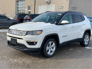 """2020 Jeep Compass North 4x4 – 8.4"""" NAV, Power Liftgate, Black Roof, Cold Weath"""