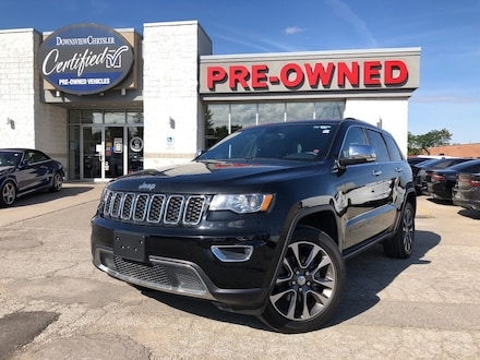 2018 Jeep Grand Cherokee Limited w/Sunroof, NAV, 20