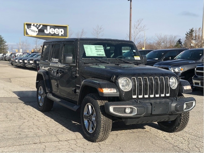 2019 Jeep Wrangler JL Unlimited Sahara – Leather Seats, Cold Weather Group, NAV & Sound