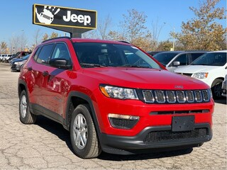 2021 Jeep Compass Sport FWD - Sport Appearance, Leather Steering