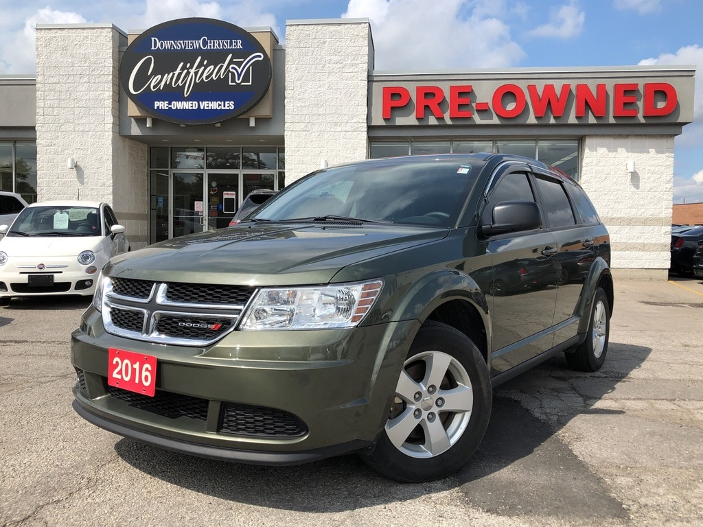2016 Dodge Journey CVP w/Bluetooth, Alloy Wheels, Tinted Windows SUV