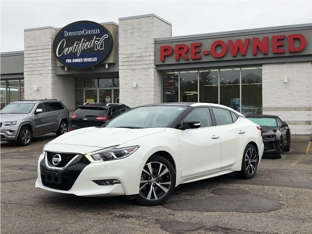 2018 Nissan Maxima SL w/ Dual Sunroof, NAV, Leather/Heated Seats Sedan