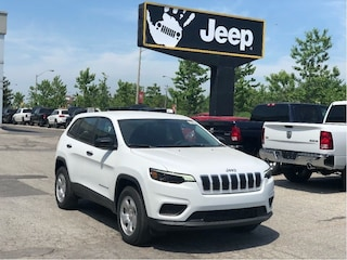 "2019 Jeep New Cherokee Sport 4x4 – Cold Weather Group, 7"" Screen, Apple CarPlay"