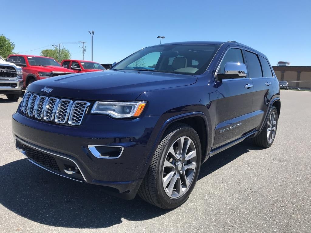 2018 Jeep Grand Cherokee Overland **Susp. A AIR, Toit Pano, GPS + WOW** VUS