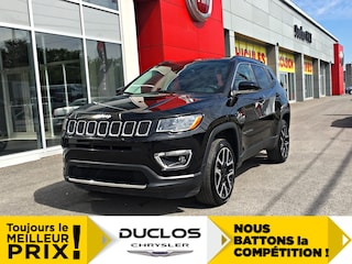 2018 Jeep Compass Limited Cuir GPS Chauff Toit CAMÉRA Mags 19 VUS