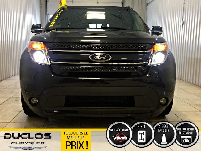Used 2014 Ford Explorer Limited* 4X4*V6*Cuir*Toit*Mags* For
