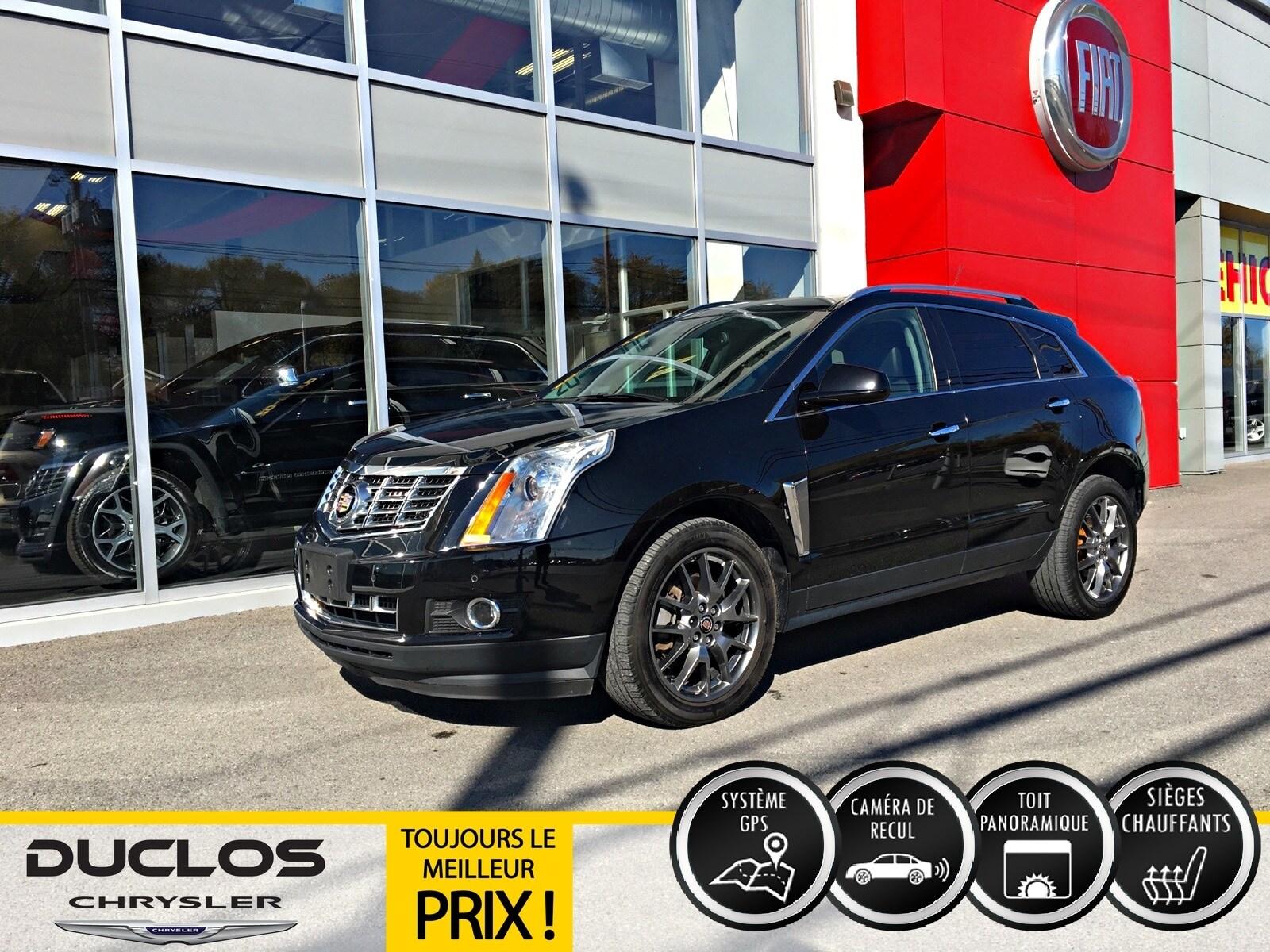 2016 Cadillac SRX Premium Collection Cuir Toit Pano GPS CAMÉR VUS