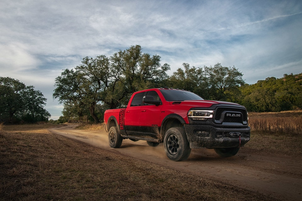 RAM 2500 Power Wagon 2020 couleur rouge