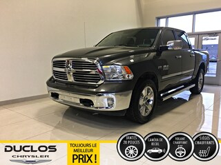 2016 Ram 1500 Big Horn Luxury CAMÉRA Bancs Chauff Mags 20 Camion cabine Crew