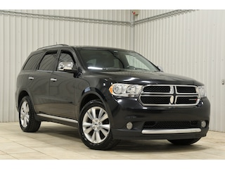 2013 Dodge Durango Bancs Cuir Chauf DVD Demarreur Toit GPS VUS