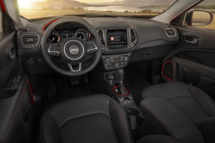 Habitacle du Jeep Compass 2020