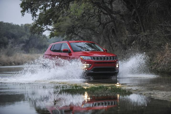 Jeep Compass 2020 Trailhawk hors-route