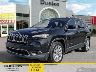 2016 Jeep Cherokee Limited Cuir Chauff/Vent Camera GPS Mags Cruise VUS