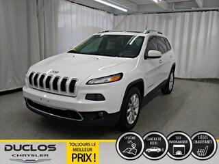 2016 Jeep Cherokee Limited Cuir CAMÉRA NAV Toit Pano VUS