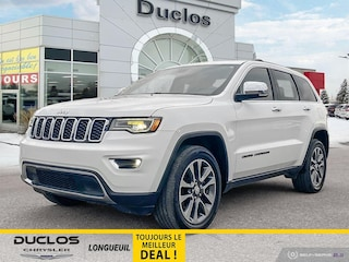 2018 Jeep Grand Cherokee Bancs Cuir Chauff GPS Blutooth Hayon Elect Mags 20 VUS