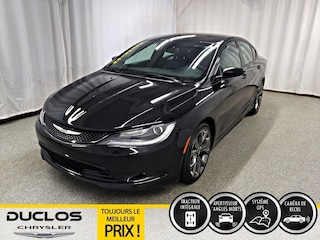 2016 Chrysler 200 S AWD NAV CAMÉRA Angles Morts Berline