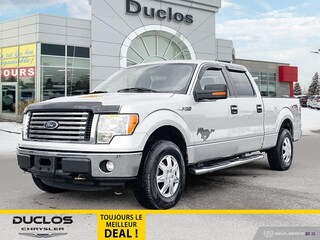 2011 Ford F-150 XLT 4WD Supercrew 6pass Marche-Pieds A/C Camion