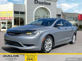 2015 Chrysler 200 C V6 Cruise Camera Toit Pano INT. Chauff Mags Berline