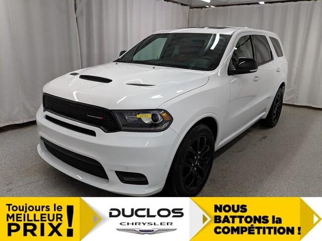 2019 Dodge Durango R/T Blacktop Cuir CAMÉRA NAV Toit GR Remorq VUS