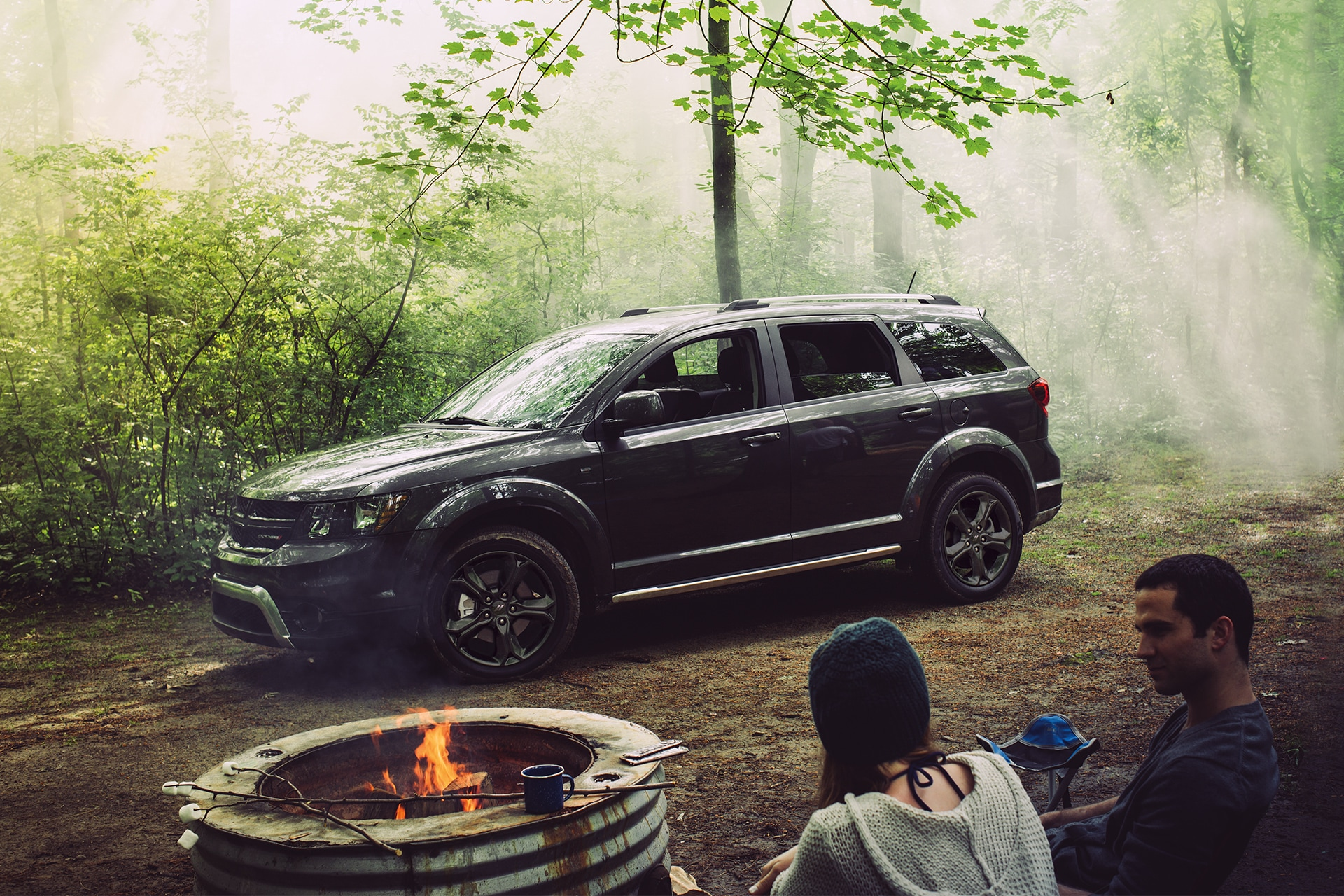 Dodge Journey 2020 et camping en nature